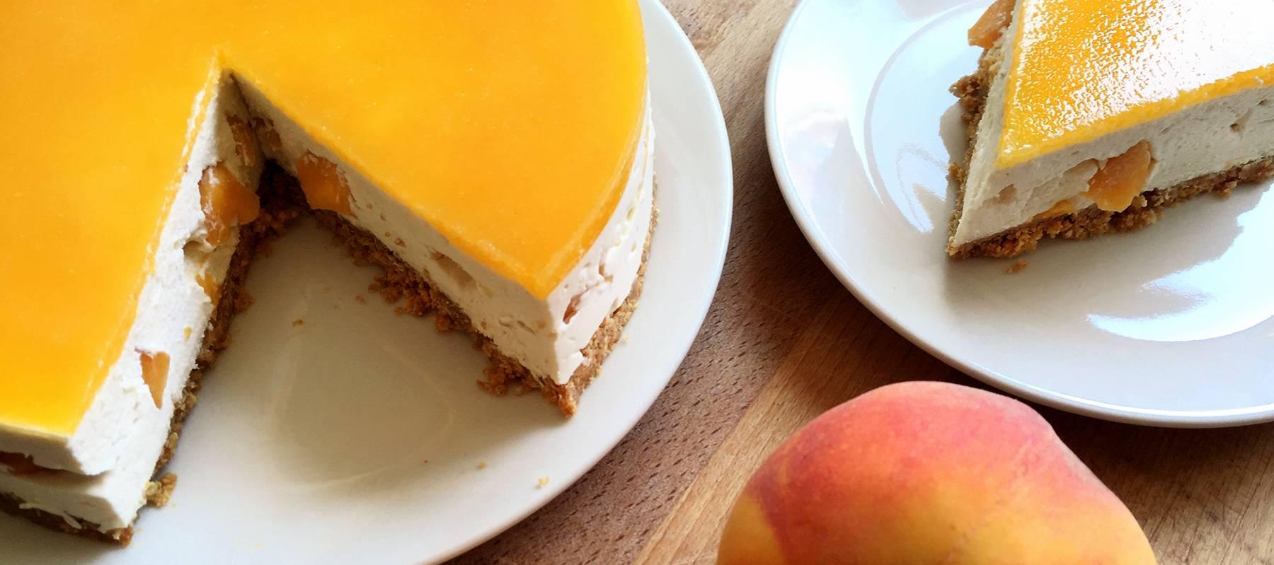 Tarta de queso philadelphia laminas gelatina