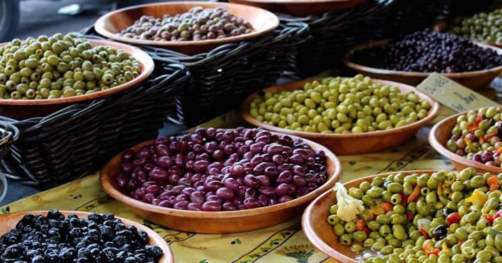 receta de aceitunas negras griegas