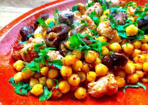 Con verano platos legumbres de