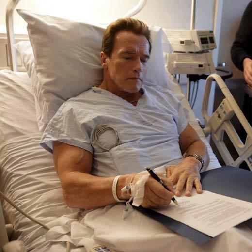 Arnold Schwarzenegger Abandona El Hospital Actualidad