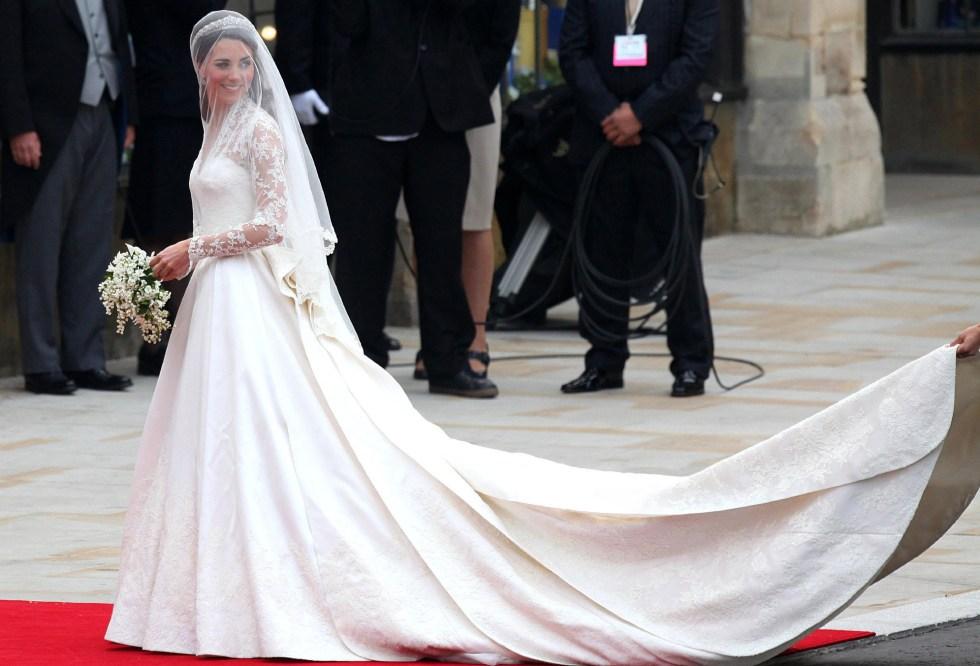 Vestidos novia kate middleton