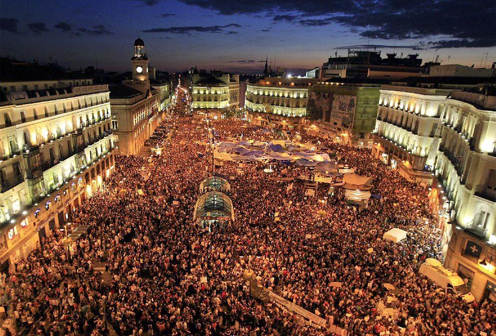Fotos protesta del movimiento del 15 m fotograf a el pa s for Puerta del sol hoy
