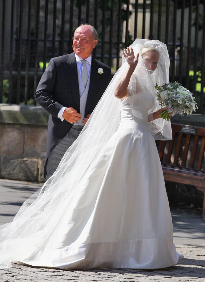 Matrimonio Zara Phillips : Fotos la otra gran boda británica zara phillips y mike
