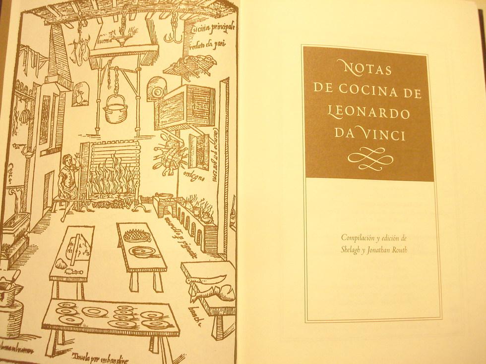 La falsa cocina de Leonardo Da Vinci | Blog Gastronotas de Capel ...