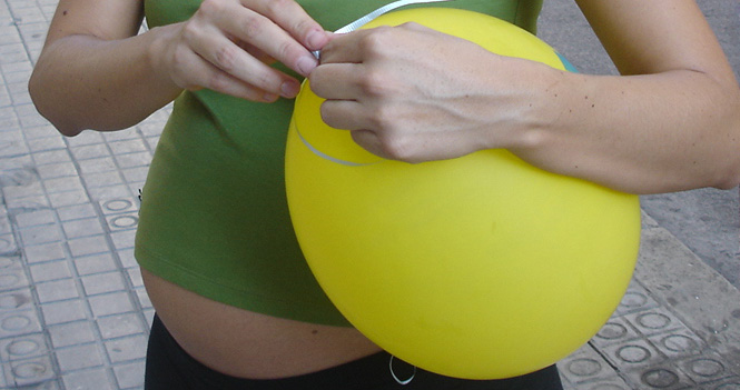A las cuantas semanas da a luz una mama primeriza