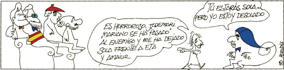 Viñeta de Peridis en El País (22.02.2012)