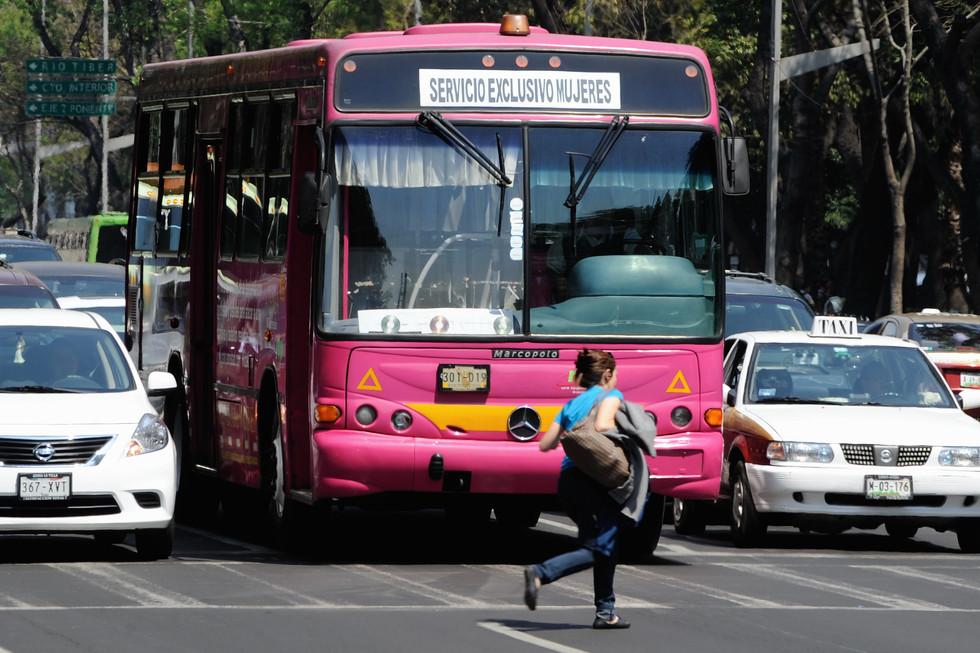 Más autobuses contra el acoso a las mujeres en México D.F.  4a12f2407e769