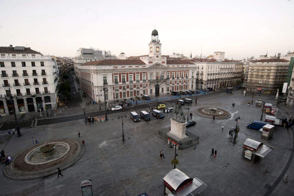 Fotos 12 M El Desalojo De La Puerta Del Sol En Im Genes