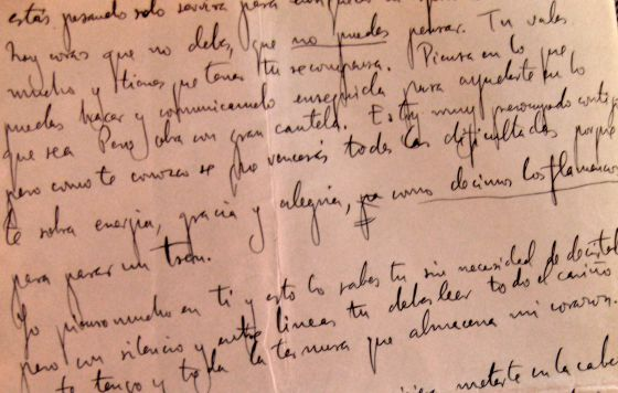 lorcas last love letter in english el pas