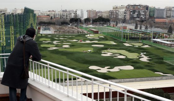 The View Of Greenc Course From A C Isabel Ii Facility On Filipinas Avenue