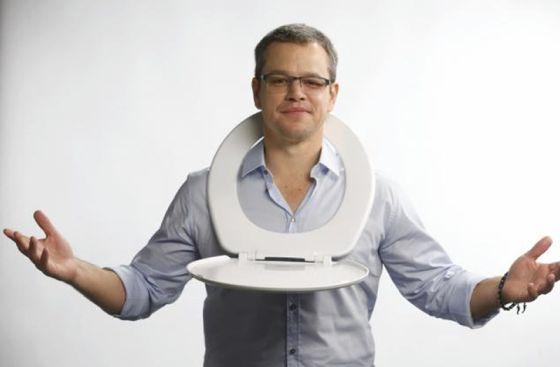 Matt Damon promueve con su ONG el consumo de agua ...