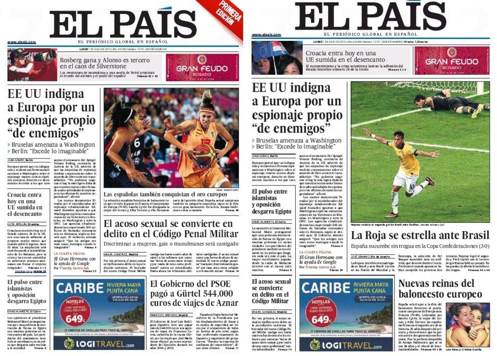 Campeonas y derrotados compiten por la portada blog for Noticias actuales del espectaculo