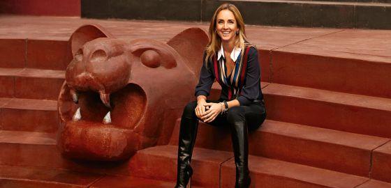 a980653da2 Ani Álvarez Calderón estudió diseño de moda para hacerse