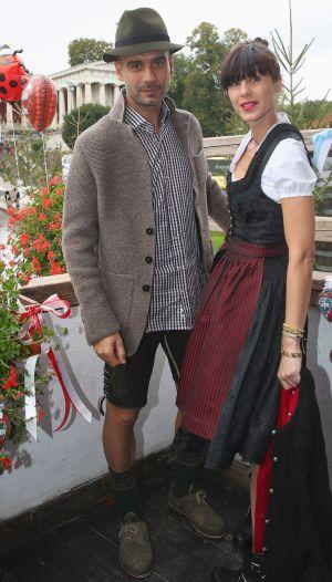 Guardiola se viste de bávaro en la fiesta de la cerveza  f897444b8c5