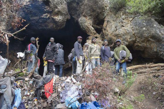 Resultado de imagen de inmigración subsahariana en Tánger