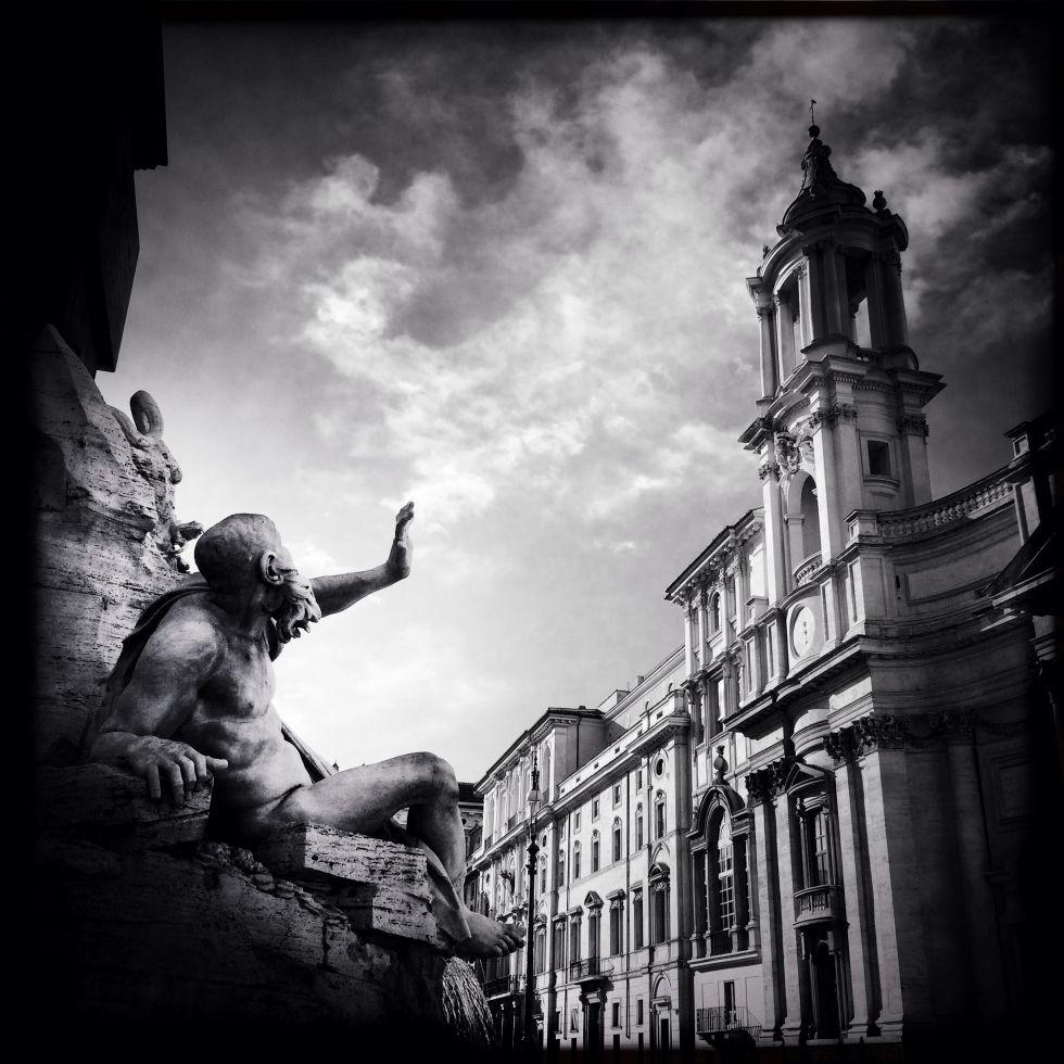Fotos roma a vista de smartphone fotograf a el pa s for Roma in bianco e nero