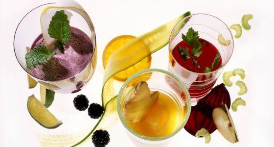 Extractos de frutas y verduras para bajar de peso