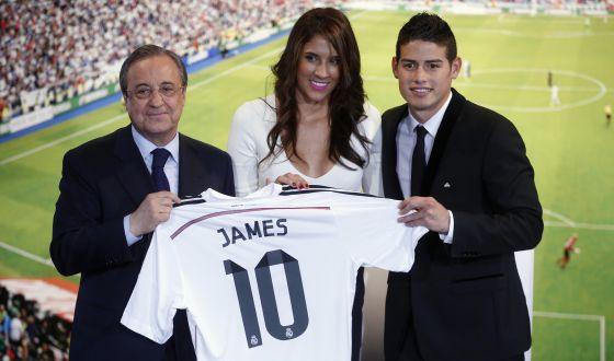 James Rodríguez y su mujer 2a124d59c4d97