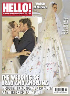 la boda ya no tan secreta de angelina jolie y brad pitt | gente y