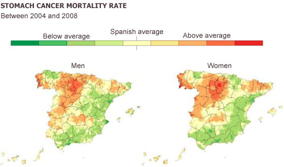 Spain\'s cancer map: how patients\' regions affect survival | In ...