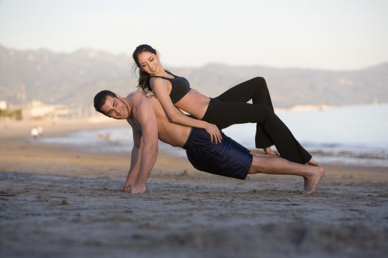 image Yoga and sexercise with hayden hennessy