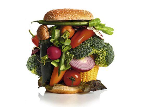 dieta vegetales y carne
