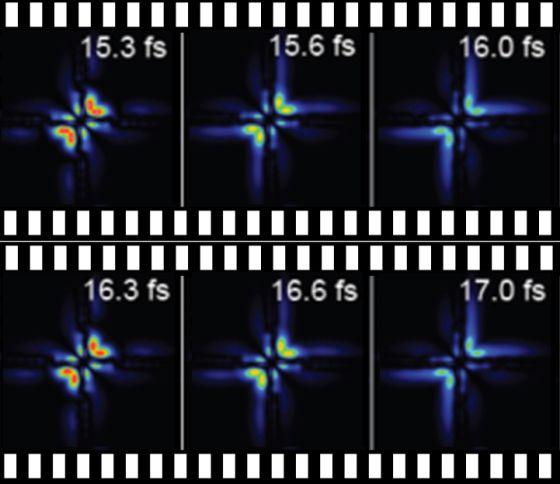 Resultado de imagen de Electrones en movimiento dentro del átomo