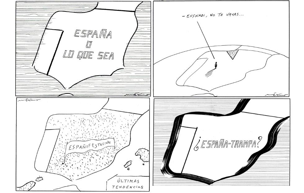El mapa de España le permitió hacer todo tipo de diagnósticos sobre el modelo de Estado.