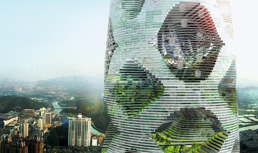 de qu sirve un edificio sostenible en una ciudad