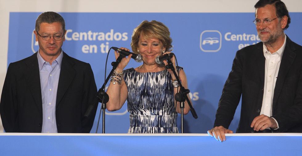 Fotos resultados de las elecciones 24m de la alegr a a for Sede de la presidencia de la comunidad de madrid