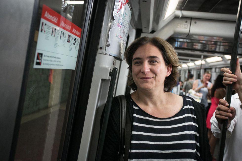 """Résultat de recherche d'images pour """"ada colau metro"""""""