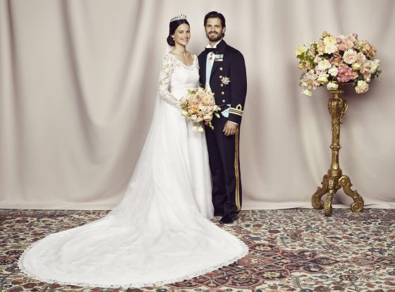 sofia hellqvist: un vestido de seda española para la princesa de