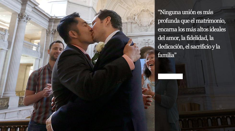 Fotos Sentencia Matrimonio Gay Ee Uu Fotogalería Una