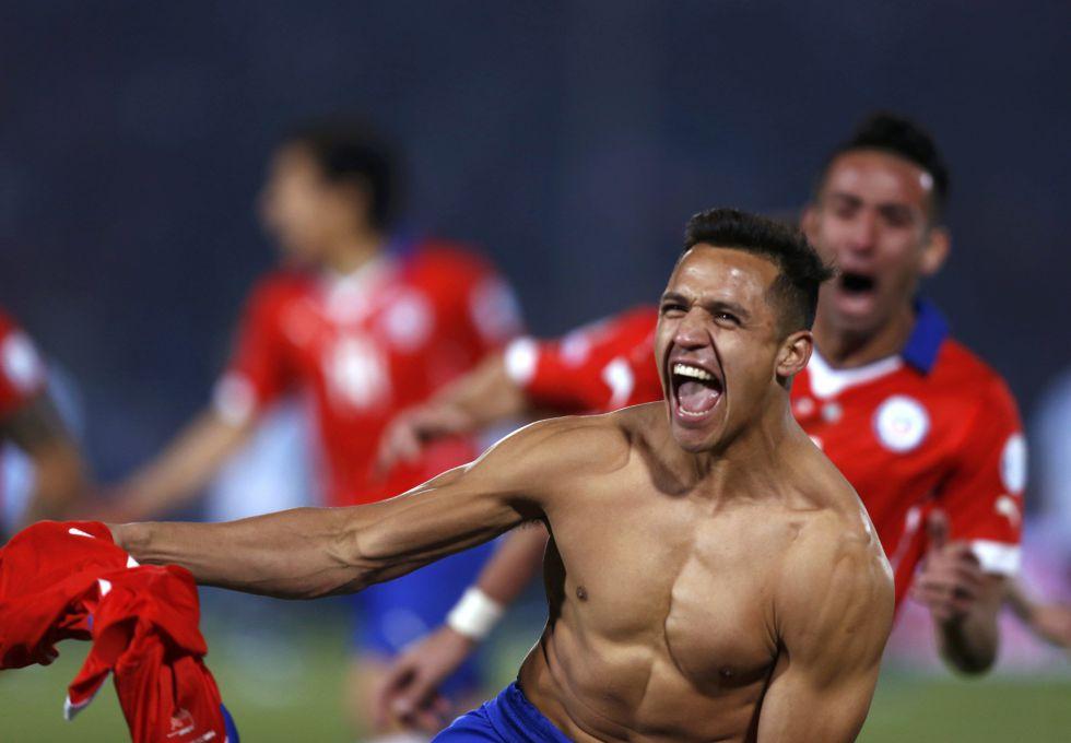 Copa América 2015: Alexis Sánchez marcó el penalti del triunfo para Chile
