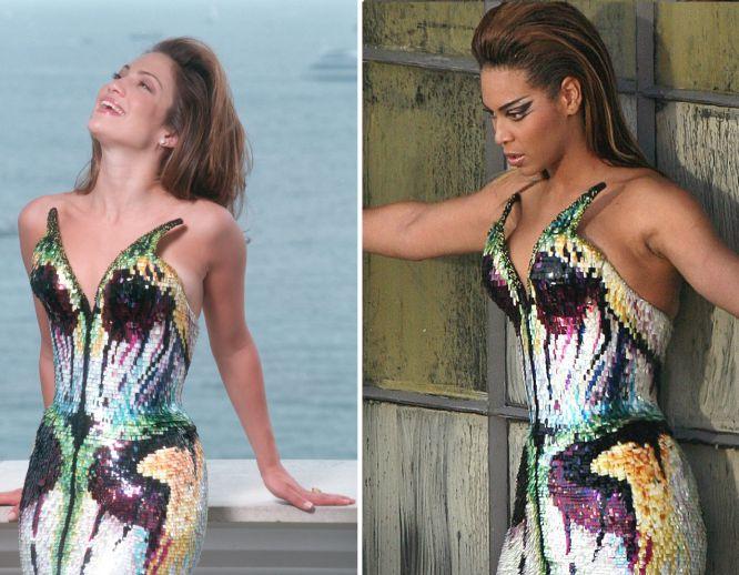 Fotos Beyoncé Ou A Arte De Copiar Jlo Estilo El País