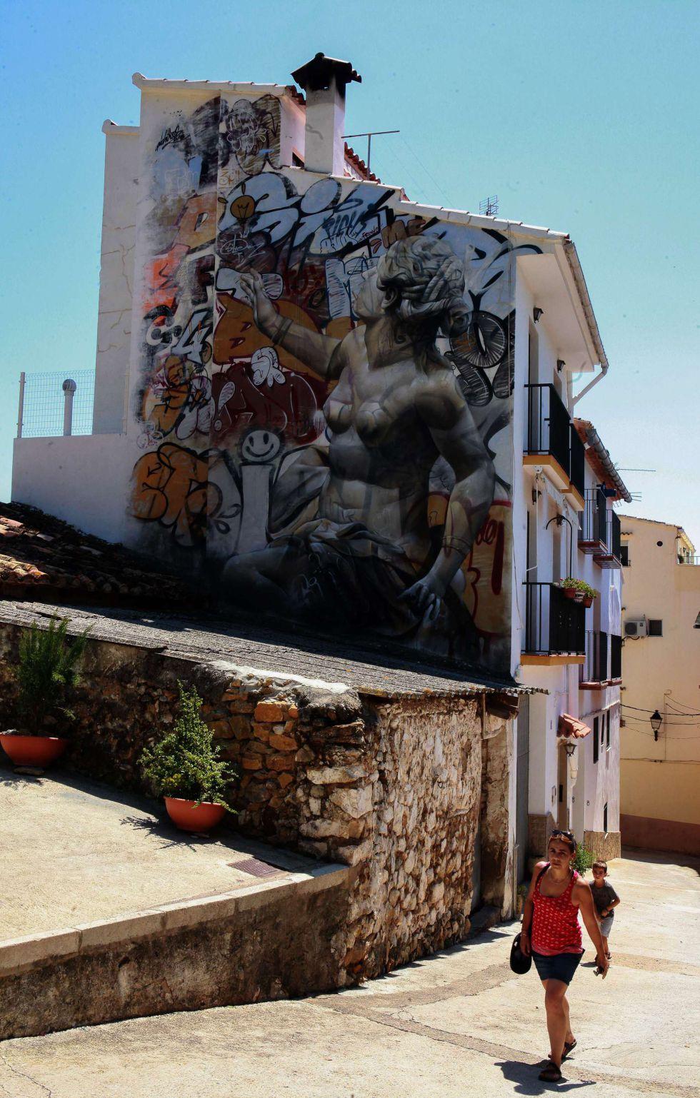 Fanzara, un pueblo-museo de grafitis