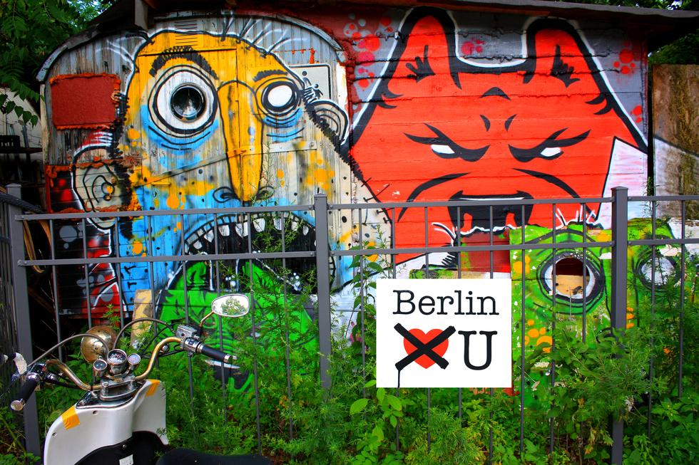 Buscando a Banksy: una ruta por el arte callejero de Berlín | Blog ...