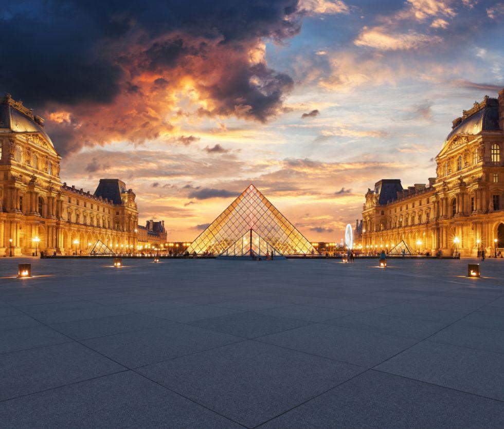 El museo del Louvre.