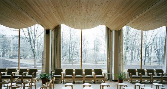 Reportaje alvar aalto la arquitectura interminable de for Arquitectura de interiores universidades