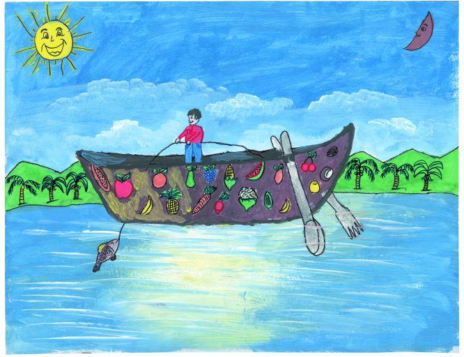 Pinto Dibujos Niños Del Planeta Para Colorear: Fotorrelato: Comer En El Cole: Crecer, Aprender, Imaginar