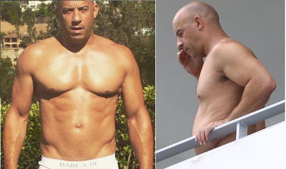 Vin Diesel Naked