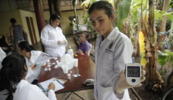 estudiante de medicina de diabetes gestacional