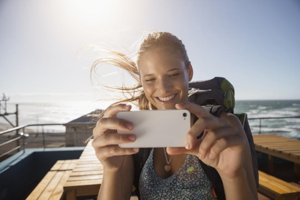 Resultado de imagen para gente de viaje sin celular