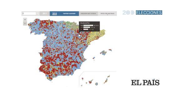 Mapa De Elecciones 2015.Resultados El Mapa De Las Elecciones Generales 2015