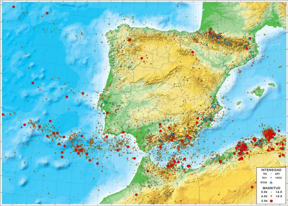 Terremoto de hoy El sur concentra la mayora de los terremotos en