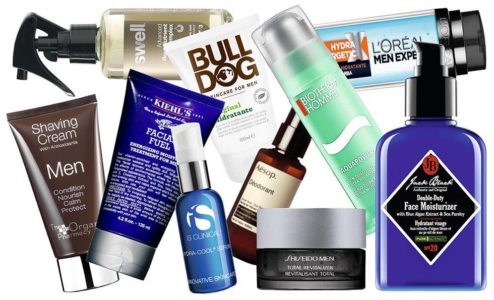 El 50% de los hombres españoles utiliza a diario productos de cosmética. d8e0644c5815