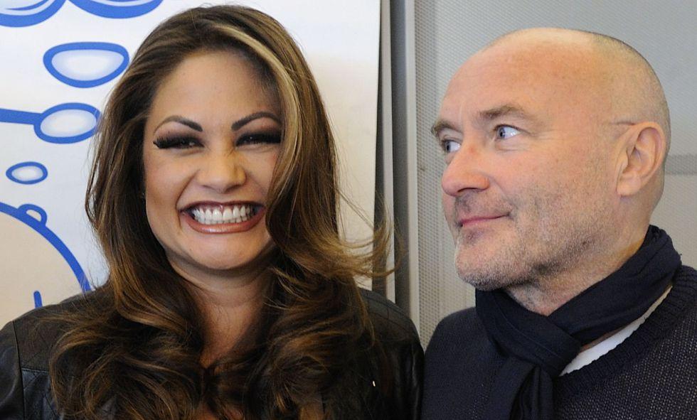 Orianne Cevey Phil Collins Se Casa Con La Mujer De La Que Se Divorció Por 30 Millones Estilo El País