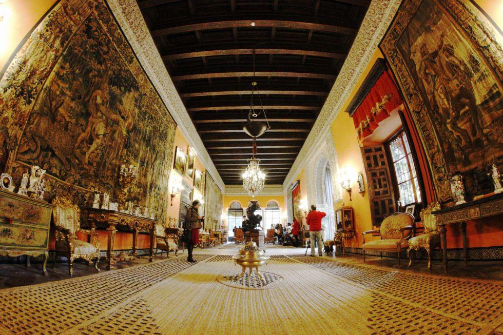 Resultado de imagen de Palacio de Dueñas sevilla
