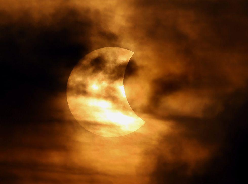 Fotos El eclipse solar en imgenes  Ciencia  EL PAS