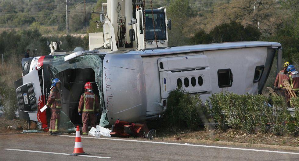 Road safety: At least 13 dead, 43 injured in Tarragona bus crash